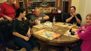 Couple makes surprise announcement to parents