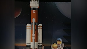 Ontario Science Centre Gets Massive Lego Apollo 11 Rocket