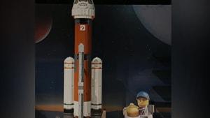 Ontario Science Centre Gets Massive Lego Apollo 11 Rocket