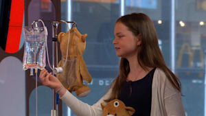 12-year old's invention to help sick children