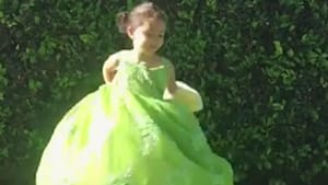 Awesome dad makes unique dresses for his daughter