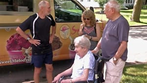 Couple has lifelong love of ice-cream