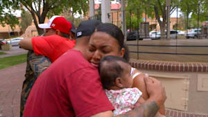 Family thanks heroes who saved kids from fire
