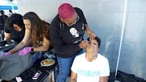 Meet the beautician servicing the homeless