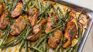 Sheet Pan Dinners: Honey Lemon Chicken & Veggies