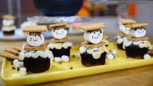 Scrumptious s'mores cupcakes
