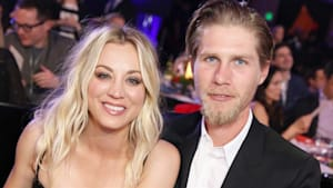 Kaley Cuoco says she doesn't live with husband
