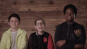 'Good Boys' stars talk being child actors