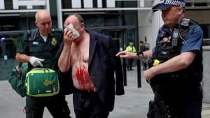 Messerattacke in London: Mann vor britischem Innenministerium niedergestochen