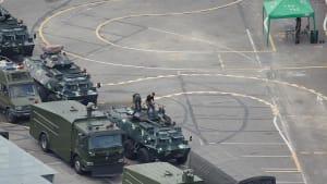 Drohung vor Protesten in Hongkong: Greift Peking ein?