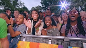Aspiring pilots from Chicago see Chance the Rapper in New York City
