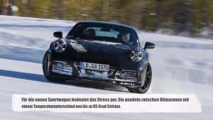 Elfer im Dauerstress - Erprobungsprogramm für die neue Porsche 911-Generation
