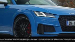 Der neue Audi TTS Coupé Trailer