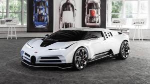 Bugatti Centodieci - Exklusive Kleinserie in außergewöhnlichem Design