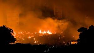Bangladesch: Großbrand macht Armenviertel teils dem Erdboden gleich