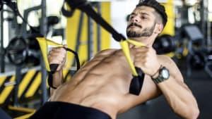 Muskeltraining an TRX-Schlaufen: Übungen und Bewegungen für ein komplettes Workout