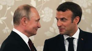 Macron empfängt Putin an der Riviera