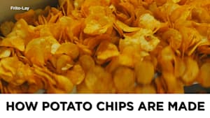 Here's how potato chips are made