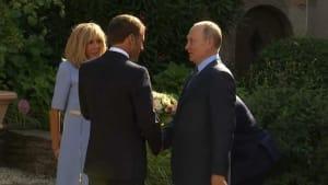 """Putin bei Macron: """"Will keine Situation wie bei Gelbwesten in Moskau"""""""