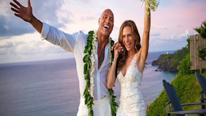 Dwayne 'The Rock' Johnson marries girlfriend
