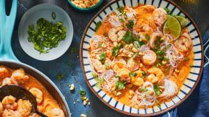 How to make speedy shrimp curry