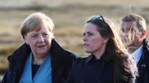 Merkel lobt grüne Politik in Island