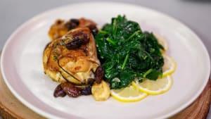 Entertaining recipes: Garlic chicken