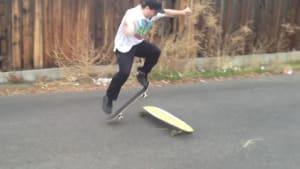 Skateboarding fails
