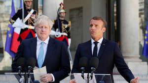 Brexit-Gespräche in Paris: Macron lässt Johnson auflaufen