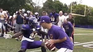 Sports team invites fan with disabilities to play