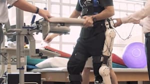 Rehab suit helps you learn to walk again