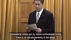 2005 Video Shows Scheer's Same Sex Marriage Opposition
