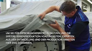BMW Group baut Prototypen des BMW iNEXT im Pilotwerk