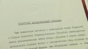 Vor 80 Jahren: Der Hitler-Stalin-Pakt - Ausstellung in Moskau