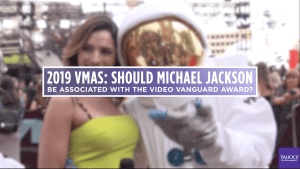 Should Michael Jackson be attached to MTV award?