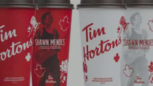 Shawn Mendes Partners Up With Tim Hortons