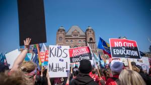 Ontario Teachers Are Wearing #RedForEd