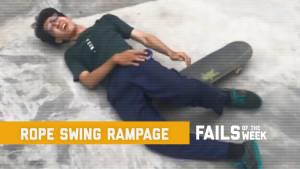 Rope swing rampage