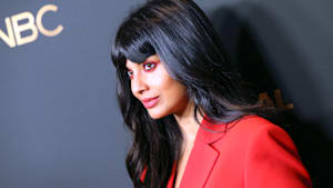 Jameela Jamil takes on Victoria's Secret models