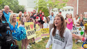 Cheerleader and her mom get special surprise