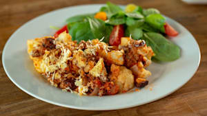 How to make baked Italian style cauliflower
