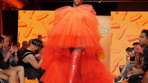 Cheetos hosts first 'Flamin' Haute' fashion show