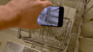 Brand new iPhone captures 300-foot drop on video
