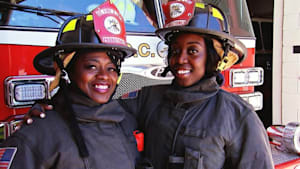 Mom and daughter save lives as firefighters