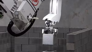 Quick bricklaying robot could reduce jobs