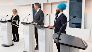 Where Is Trudeau? The Liberal Leader Declined To Attend The Maclean's Debate