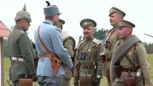 Nachgespielt - die erste Russisch - Deutsche Schlacht des 1. Weltkriegs