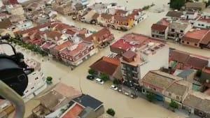 Fünf Tote bei Unwettern in Spanien