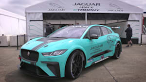 Jaguar Racing gibt Weltpremiere für den I-PACE eTROPHY Racecar in Berlin
