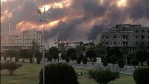 Huthi-Rebellen aus dem Jemen bekennen sich zu Angriff auf saudische Ölgesellschaft Aramco